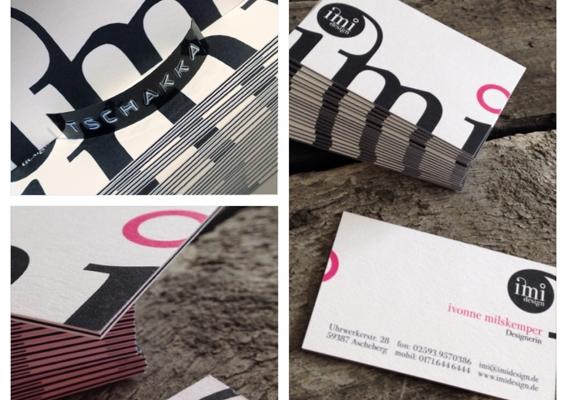 Die Neuen Imi Design Visitenkarten Imi Design